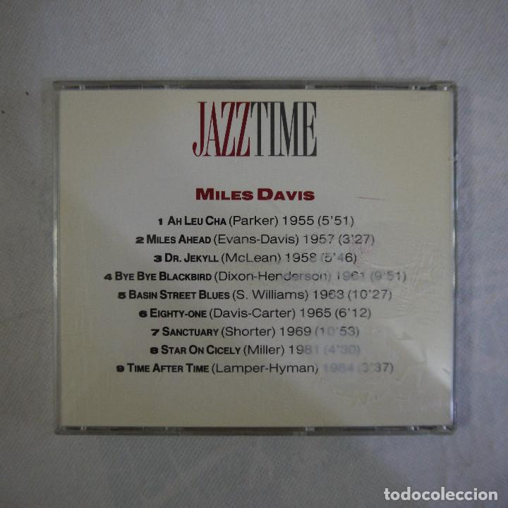 CDs de Música: MILLES DAVIS - JAZZ TIME - CD - Foto 3 - 129167451