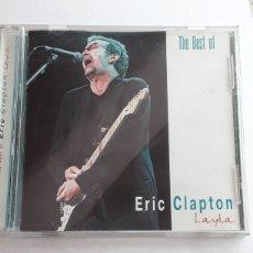 CDs de Música: THE BEST OF ERIC CLAPTON / LAYLA / AÑO 2002 CD ORIGINAL. Lote 129207658