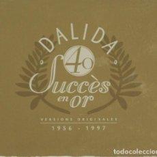 CDs de Música: DALIDA 40 SUCCÈS EN OR 2 CD 1956-1997 ITALIANA. Lote 129210579