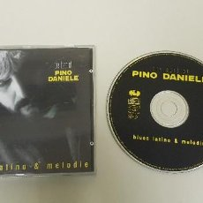CDs de Música: 1018- 25% DTO EN TODA LA TIENDA VISITALA---- PINO DANIELE THE BEST BLUES LATINO MELODIE CD VG+/VG++. Lote 129225303
