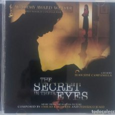 CDs de Música: THE SECRET IN THEIR EYES (EL SECRETO DE SUS OJOS) - FEDERICO JUSID - CD OST / BSO / BANDA SONORA. Lote 129234127