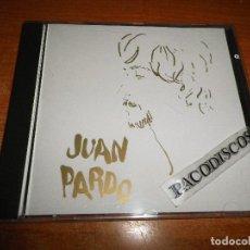 CDs de Música: JUAN PARDO AYER AHORA ES HOY CD ALBUM HECHO EN FRANCIA SIN CODIGO DE BARRAS MUY RARO SU PRIMER CD. Lote 129247423