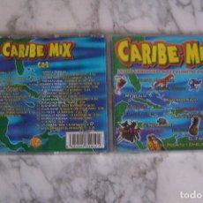 CDs de Música: DOBLE CD CARIBE MIX. MEZCLADO POR DREAM TEAM (CASTELLS/ PERET/ TEJADA). Lote 129260251