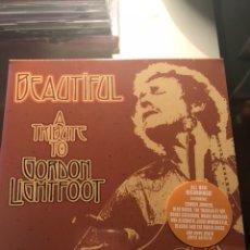 CDs de Música: BEAUTIFUL A TRIBUTE TO GORDON LIGHTFOOT. Lote 129273271