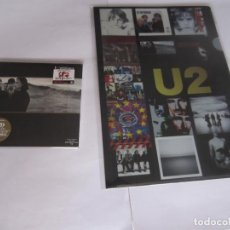 CDs de Música: U2 (U 2) - LOTE THE JOSHUA TREE 1987/2017 JAPAN MINI LP SHM CD UICY-9059 + CARPETA A CLEAR FILE (A4). Lote 129301503