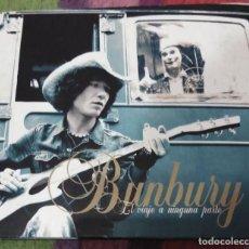 CDs de Música: BUNBURY (EL VIAJE A NINGUNA PARTE) 2 CD'S 2004 EDICIÓN DIGIPACK. Lote 129303779