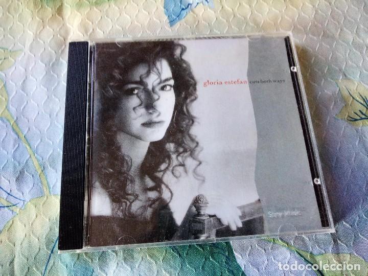 GLORIA ESTEFAN CUTS BOTH WAYS CD ALBUM DEL AÑO 1989 AUSTRIA OYE MI CANTO CONTIENE 12 TEMAS (Música - CD's Latina)