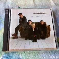 CDs de Música: THE CRANBERRIES - NO NEED TO ARGUE,2 CD. Lote 129317047