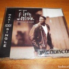 CDs de Música: TREY LORENZ SOMEONE TO HOLD CD MAXI SINGLE DEL AÑO 1992 EU PORTADA DE PLASTICO 3 TEMAS MARIAH CAREY. Lote 215469828