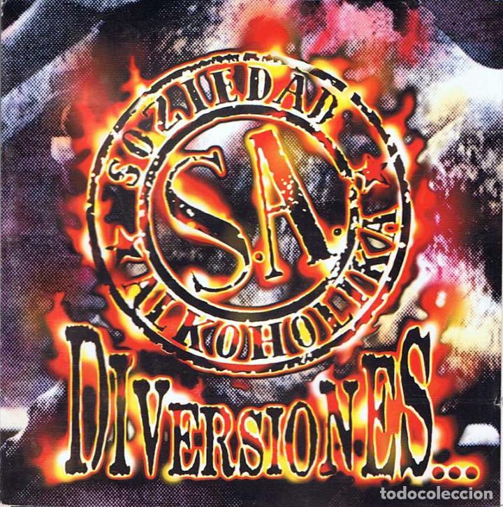 SOZIEDAD ALKOHOLIKA - DIVERSIONES. CD (Música - CD's Rock)