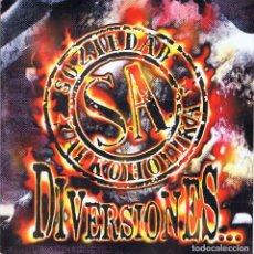 CDs de Música: SOZIEDAD ALKOHOLIKA - DIVERSIONES. CD. Lote 129403275