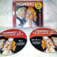 CDs de Música: HOMBRES G PELIGROSAMENTE JUNTOS 2 CDS + DVD. Lote 118692427