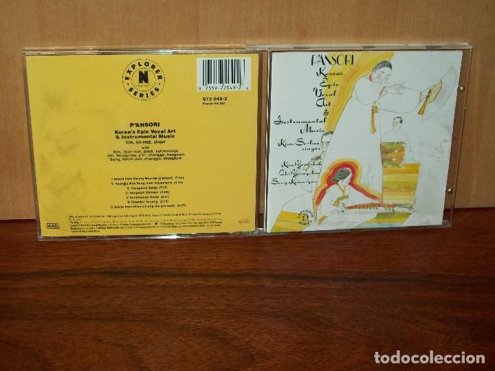 P'ANSORI KOREA'S EPIC VOVAL & INSTRUMENTAL MUSIC KIM SO-HEE SINGER - CD