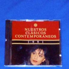 CDs de Música: VENDO CD, NUESTROS CLÁSICOS CONTEMPORÁNEOS (RECOPILATORIO AÑO, 1991) VER 2ª FOTO.. Lote 129464387