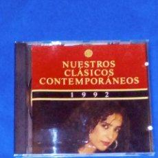 CDs de Música: VENDO CD, NUESTROS CLÁSICOS CONTEMPORÁNEOS (RECOPILATORIO AÑO, 1992) VER 2ª FOTO.. Lote 129464455