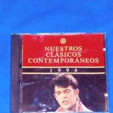CDs de Música: VENDO CD, NUESTROS CLÁSICOS CONTEMPORÁNEOS (RECOPILATORIO AÑO, 1994) VER 2ª FOTO.. Lote 129464691