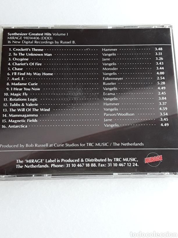 CDs de Música: Synthesizer Greatest Hits Volume I y II / 2 Cds - Foto 3 - 129491719