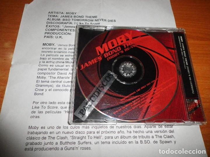 Moby james bond theme (moby´s re-version) banda - Verkauft