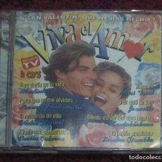 CDs de Música: VIVA EL AMOR - 2 CD'S 1996 (ADAMO, BRAULIO, MARI TRINI, JEANETTE, MINA, MONCHO, VICTOR MANUEL...). Lote 129562187
