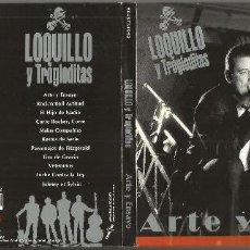 CDs de Música: LOQUILLO Y LOS TROGLODITAS CD DIGIPACK ARTE Y ENSAYO 2004. Lote 129565055