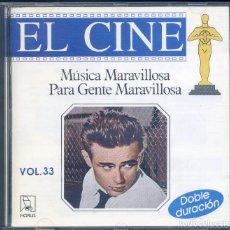 CDs de Música: MUSICA MARAVILLOSA PARA GENTE MARAVILLOSA: EL CINE. Lote 129587371
