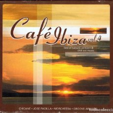 CDs de Música: CAFÉ IBIZA VOL. 4. BEST OF BALEARIC AMBIENT & CHILL OUT MUSIC. 2 CDS. Lote 129635079