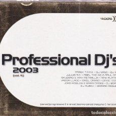CD de Música: PROFESSIONAL DJ´S 2003,VOL.5 DEL 2002 4 CD. Lote 129654915