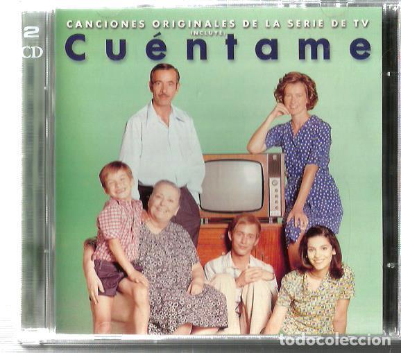 DOBLE CD CUENTAME (MARISOL, LOS BRINCOS, LOS IBEROS, SERRAT, GATOS NEGROS, LOS BRAVOS, LOS CANARIOS (Música - CD's Pop)