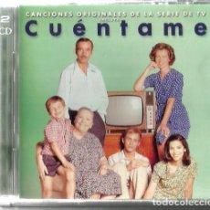 CDs de Música: DOBLE CD CUENTAME (MARISOL, LOS BRINCOS, LOS IBEROS, SERRAT, GATOS NEGROS, LOS BRAVOS, LOS CANARIOS. Lote 129658483