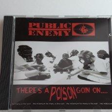 CDs de Música: PUBLIC ENEMY / THERE'S A POISON GOIN ON ... / CD ORIGINAL EN MUY BUEN ESTADO AÑO 1999. Lote 129695526