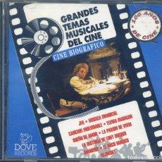 CDs de Música: GRANDES TEMAS MUSICALES DEL CINE BIOGRAFICO. Lote 129702499
