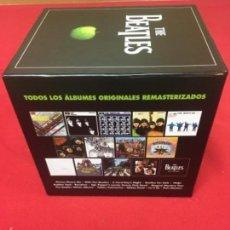 CDs de Musique: BOX SET THE BEATLES/TODOS LOS ÁLBUMES ORIGINALES REMASTERIZADOS.. Lote 129959867