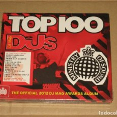 CDs de Música: (SIN ABRIR) VARIOS - TOP 100 DJS (THE OFFICIAL 2012 DJ MAG AWARDS ALBUM) __ 2 CDS. Lote 129983043