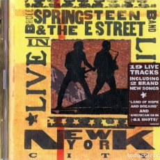 CDs de Música: BRUCE SPRINGSTEEN & THE E STREET BAND ¨LIVE IN NEW YORK CITY¨ (CD). Lote 129983511