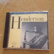 CDs de Música: JOE HENDERSON. THE BEST OF JOE HENDERSON (CD). Lote 130039898