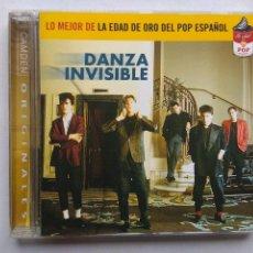 CDs de Música: DANZA INVISIBLE. LO MEJOR DE LA EDAD DE ORO DEL POP ESPAÑOL. CD CAMDEN 74321 900112. ESPAÑA 2001. . Lote 130052091