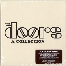 CDs de Música: DOORS: A COLLECTION. ESTUCHE CON SUS 6 LP´S DE ESTUDIO: THE DOORS, STRANGE DAYS, WAITING FOR THE SUN. Lote 130061415