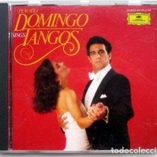 CDs de Música: PLACIDO DOMINGO SINGS TANGOS. Lote 130070259