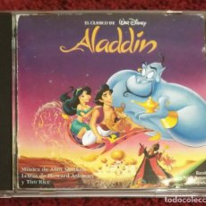CDs de Música: B.S.O. ALADDIN (BANDA SONORA EN ESPAÑOL) CD 1994 - WALT DISNEY. Lote 130072683