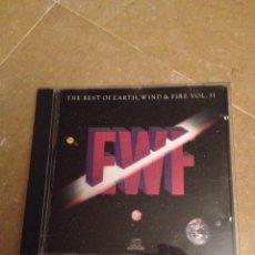 CDs de Música: THE BEST OF EARTH, WIND & FIRE (VOL. II) CD. Lote 130135736
