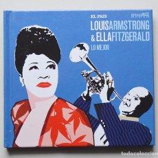 CDs de Música: LO MEJOR DE LOUIS ARMSTRONG Y ELLA FITZGERALD . Lote 130153599