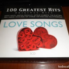 CDs de Música: 100 GREATEST HITS-ORIGINAL HITS-LOVE SONGS. Lote 130176635