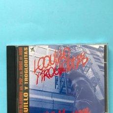 CDs de Música: LOQUILLO Y LOS TROGLODITAS - EL RITMO DEL GARAGE - COLECCIÓN GRANDES CLÁSICOS DEL POP-ROCK DE AQUÍ. Lote 130195531