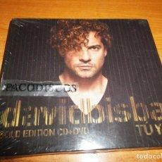 CDs de Música: DAVID BISBAL TU Y YO GOLD EDITION CD + DVD PRECINTADO 2014 DUOS ANTONIO OROZCO INDIA MARTINEZ SANDY. Lote 130272094