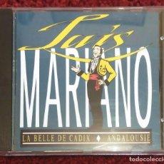 CDs de Música: LUIS MARIANO (LA BELLE DE CADIX - ANDALOUSIE) CD 1989. Lote 130284874