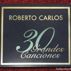 CDs de Música: ROBERTO CARLOS (30 GRANDES CANCIONES) 2 CD'S 2000 . Lote 130286134