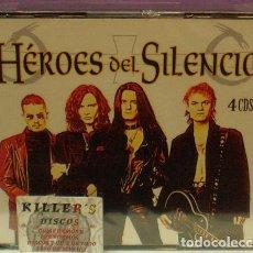 CDs de Música: HÉROES DEL SILENCIO - 4XCD RECOPILATORIO - PRECINTADO. Lote 130323270