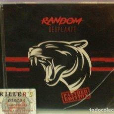 CDs de Musique: DESPLANTE - RANDOM (PANTHER EDITION) - CD. EDICIÓN ESPECIAL. Lote 130323838
