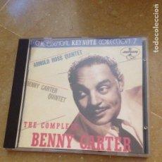 CDs de Música: THE COMPLETE BENNY CARTER (CD) ARNOLD ROSS QUINTET. Lote 130327190