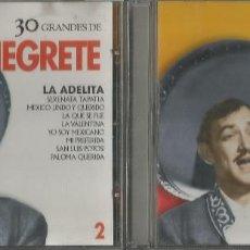 CDs de Música: 30 GRANDES DE NEGRETE / 2 CD´S (REF.40). Lote 130343946